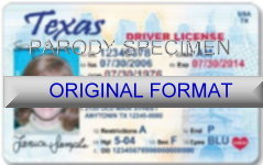 Texas Fake ID