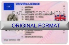 UNITED KINGDOM DRIVER LICENSE ORIGINAL FORMAT, DESIGN SPECIFICATIONS, NOVELTY SECURITY CARD PROFILES, IDENTITY, NEW SOFTWARE ID SOFTWARE